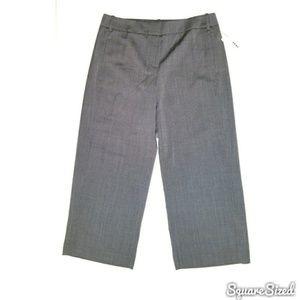DKNY | Gray Tweed Dressy Culottes  NWT